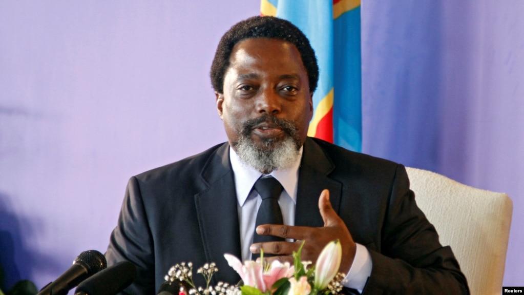 Le Président de la République Démocratique du Congo, Joseph Kabila, à Kinshasa, le 26 janvier 2018.
