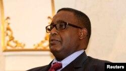 索马里总理舍马克(资料照片)