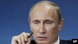 ولادیمیر پوتین، رییس جمهور روسیه