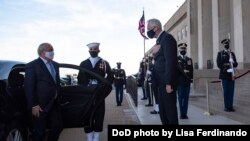 Pentagon: O'zbekiston - ishonchli strategik sherik (Turkum suratlar)