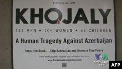 Vaşinqton metrosunda Xocalı barədə posterlər
