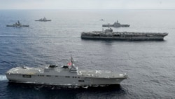 US Naval Presence 'Shaping Events' in South China Sea