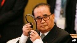 리수용 외무상 등 북한 대표단이 18년 만에 처음으로 스위스 다보스에서 열리는 세계경제포럼에 참석할 것으로 알려졌다. 지난해 8월 아세안 지역 포럼에 참석한 리수용 북한 외무상. (자료사진)
