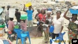 Mulheres na província do Namibe