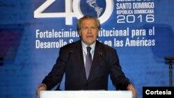 La canciller venezolana, Delcy Rodriguez, hizo la propuesta de evaluar la actuación del secretario general de la OEA, Luis Almagro.