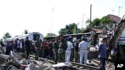 بھارت: مسافر ٹرین کے حادثے میں انسانی غلطی کا امکان