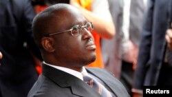Le président ivorien du parlement Guillaume Soro, à Abidjan, le 7 août 2010.