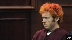 科罗拉多州电影院屠杀事件嫌疑人霍尔姆斯