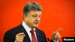 烏克蘭總統波羅申科(資料圖片)