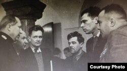 Советская делегация в Нюрнберге