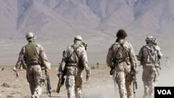 Tentara Australia yang bertugas di Afghanistan.