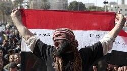 اعتصاب مخالفان مصری در سالگرد سقوط حسنی مبارک