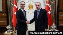 NATO Genel Sekreteri Stoltenberg ve Cumhurbaşkanı Erdogan