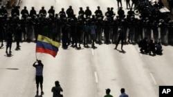 Las protestas no han parado en las calles de Caracas desde las elecciones presidenciales en donde Nicolás Maduro logró la victoria por un estrecho margen.