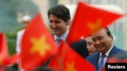 Thủ Tướng Canada Justin Trudeau dự Diễn đàn APEC ở Vietnam