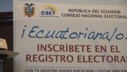 Elecciones en Ecuador: comunidad de Florida en expectativa