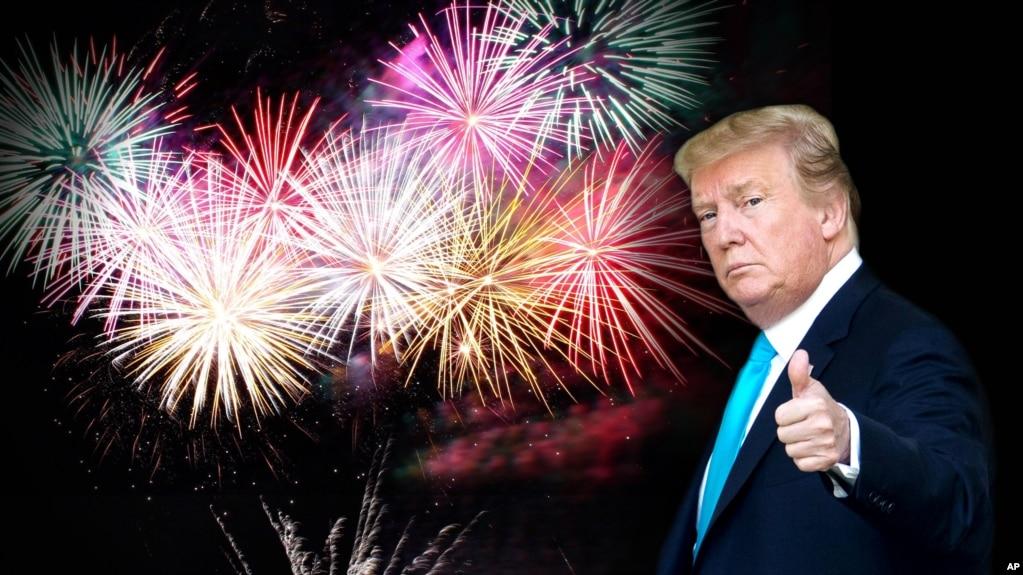 """Tổng thống Mỹ Donald Trump muốn phô trương """"sức mạnh quân sự của lực lượng quân đội tân tiến nhất thế giới"""" trong ngày Lễ Độc lập."""