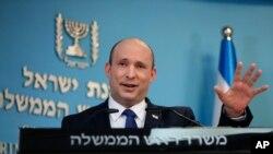 나프탈리 베네트 이스라엘 총리.