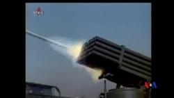 2014-04-29 美國之音視頻新聞: 北韓在南北韓海上分界線附近舉行炮兵實彈演習