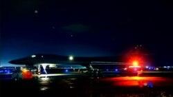美國派B-1B轟炸機飛越朝鮮半島 (粵語)