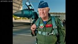 第一位突破音障的传奇试飞员去世 享年97岁