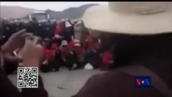 Chinese Police Clamp Down Tibetan Mining Protesters