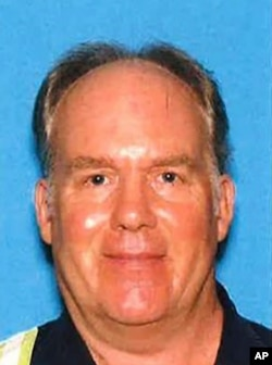 This undated photo provided by the Santa Clara County Sheriff's Office shows Samuel Cassidy, 57, the suspect in the May 26, 2021, shooting at a San Jose, California, rail station.