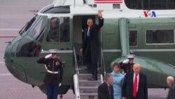 Cựu Tổng thống Hoa Kỳ Obama rời Điện Capitol