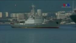 Karadeniz'de Rus Gemisi Battı