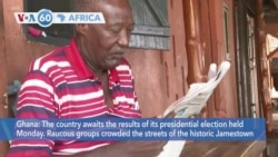 VOA60 Afrikaa - Ghana: The country awaits the results of its presidential election