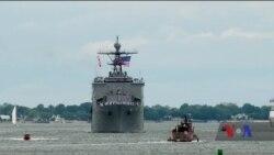 До Чорного моря прямує корабель шостого флоту військово-морських сил США. Відео
