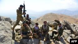 Бойцы ФНС в Панджшере