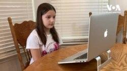 Як українські малюки у США вивчають українську онлайн. Відео