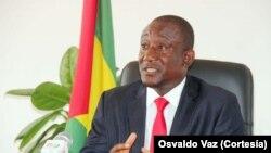 Osvaldo Vaz, ministro das Finanças, São Tomé e Príncipe