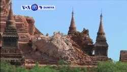 VOA60 DUNIYA: MYANMAR Mummunar Girgizar Kasa Mai Karfin Maki 6.5 Ta Kashe Akalla Mutane 3