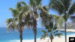 一处墨西哥海滩