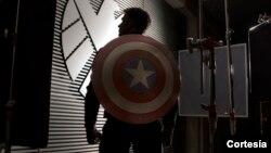 Escenas de la nueva película de Capitán América se graban en las calles de Washington. [Foto: Marvel Studios]