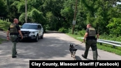 عکس از صفحه فیسبوک کلانتری شهرستان »کلی» در ایالت میزوری آمریکا