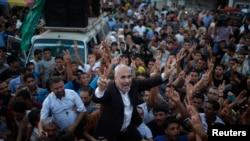Abayobozi ba Hamas barishimira agahenge