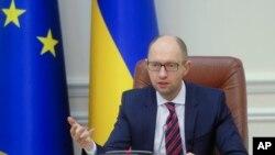 Ukrajinski premijer Arsenij Jacenjuk