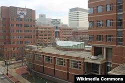 펜실베니아 의과대학 건물.
