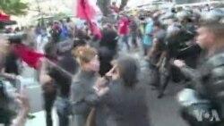 Manifestations contre les Jeux olympiques à Rio de Janeiro (vidéo)
