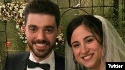 طیارہ حادثے میں ہلاک ہونے والوں میں ایک نوبیاہتا جوڑا بھی شامل ہے جو شادی کی غرض سے ایران آیا تھا۔