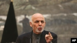 افغان صدر غنی (فائل فوٹو)