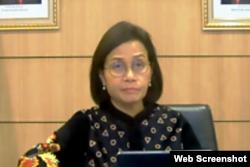 Menteri Keuangan RI Sri Mulyani Indrawati. (Foto: VOA/Nurhadi)