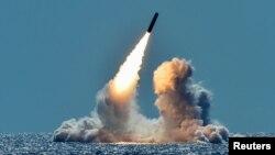 지난 2018년 3월 미국 서부 캘리포니아주 해안의 미 해군 오하이오급 핵잠수함 네브라스카호에서 트라이던트II 탄도미사일을 시험발사했다.