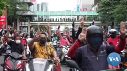 Protest Veterans in Thailand Join Young Pro-Democracy Demonstrators