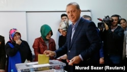 İstanbul'da oyunu kullanan Cumhurbaşkanı Erdoğan