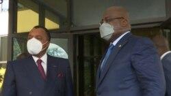 Tshisekedi alimboli pene na Sassou mpo etali boyokani na FCC ya Kabila