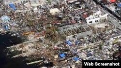 Filippində Hayyan qasırğası